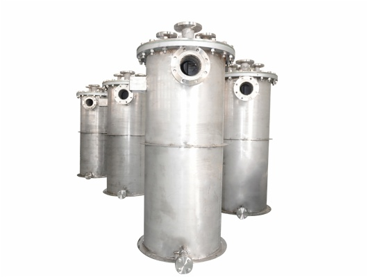 Silicon Carbide Shell And Tube Heat Exchangers
